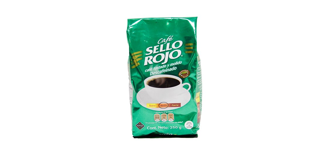 cafe sello rojo descafeinado